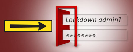lockdown wp admin