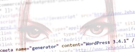 De broncode verraad je WordPress website