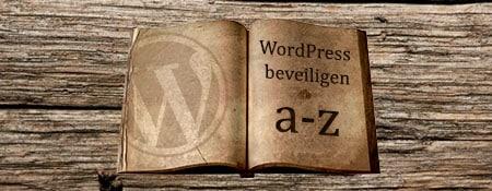 wordpress beveiligen a-tot-z