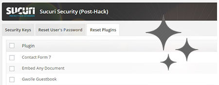 Een handige functie van Securi