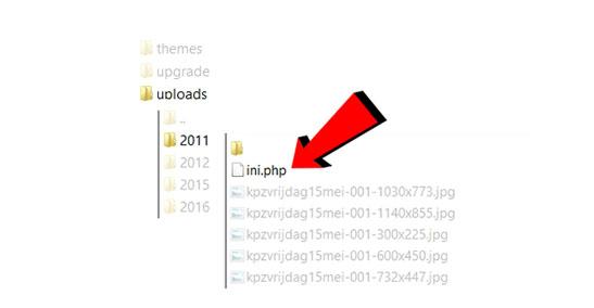 hack in de uploads