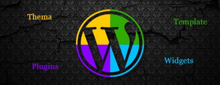 Het verschil tussen Widgets – Plugins – Thema's – Templates