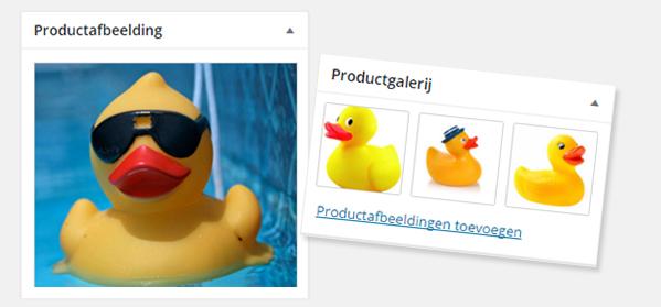 woocommerce wordpress afbeeldingen van product