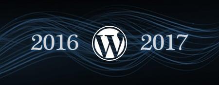 wordpress 2016 2017