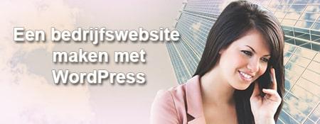 bedriijfswebsite maken met wordpress