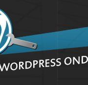 wordpress onderhouden