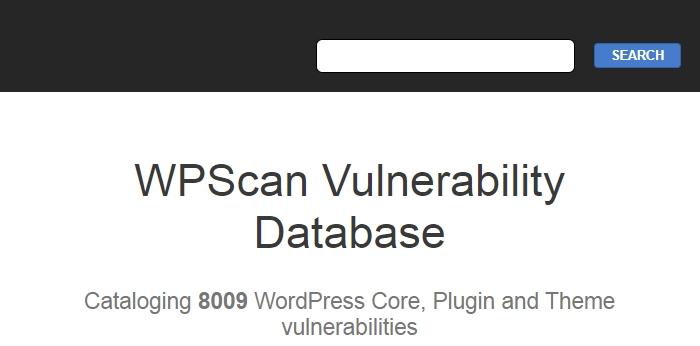 wordpress plugin database