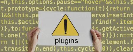 Onveilige plugins in WordPress zorgen voor problemen