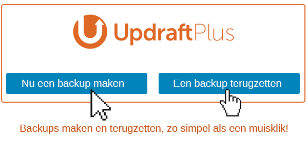 backups maken voor wordpress