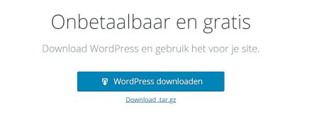 WordPress installeren doe je zo!